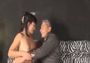Daddy orally fucks his astonishing daughter