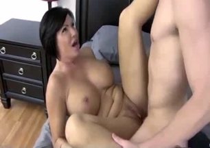 Nice incest sex with a horny as hell mom