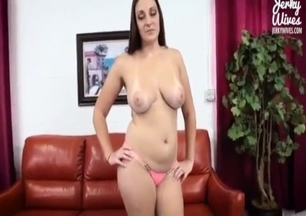 Filming my fully naked sister and her big boobs