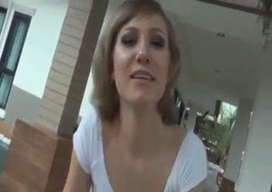Rich sister enjoys her horny brother on the balcony
