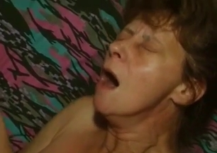 Slutty as hell mommy is enjoying her first incest