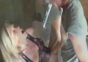 Older sister jerks off her brother's dicks