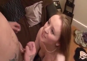 Ultra sweet big-tit sister is asking for cum