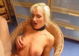 Sexy mommy blonde enjoys filthy incest with her son